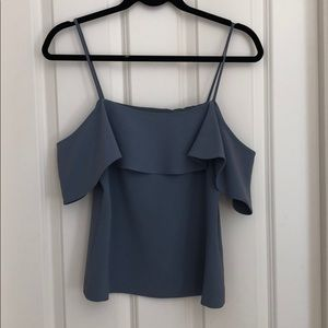 Theory off the shoulder top size 2